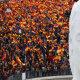 Tuhanded tulid Madridi tänavatele valitsuse katalaanide poliitika vastu meelt avaldama
