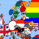 Составлена карта самых раздражительных вещей для каждой страны Европы