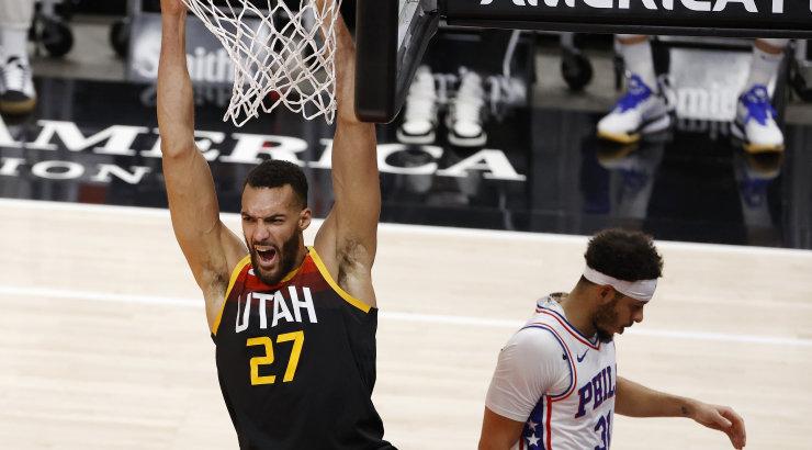 VIDEO | Utah Jazz võttis konverentsi liidrite duellis kaheksanda järjestikuse võidu, võistkondade parimad viskasid kokku 82 punkti