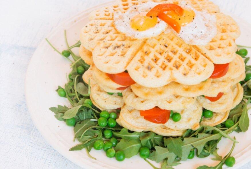 Unusta võileivad! Tee hoopis soolaseid gluteenivabu vahvleid