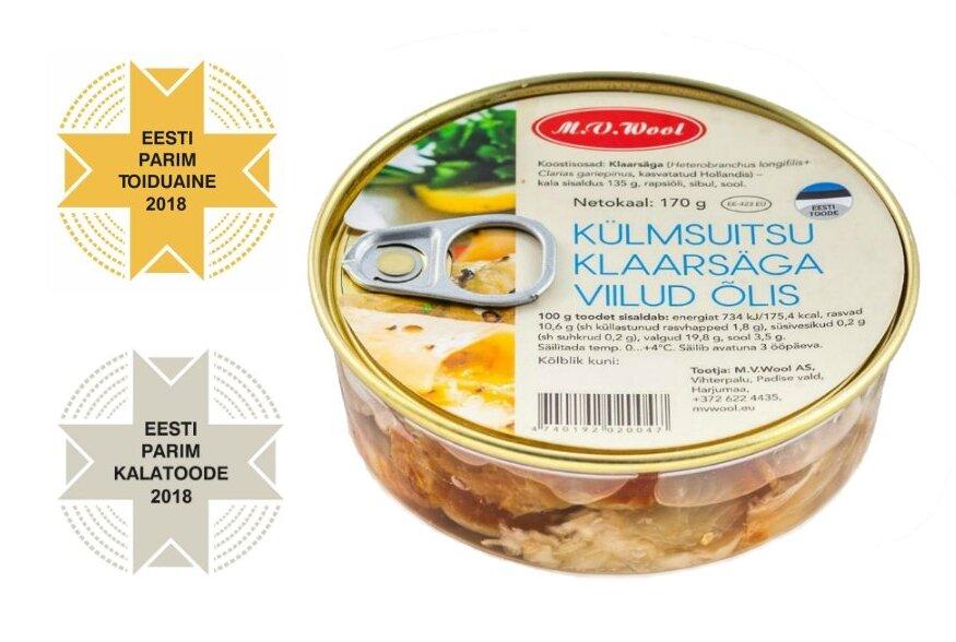 Eesti aasta parimaks toiduaineks valiti M.W. Wooli toodetav külmsuitsu klaarsäga