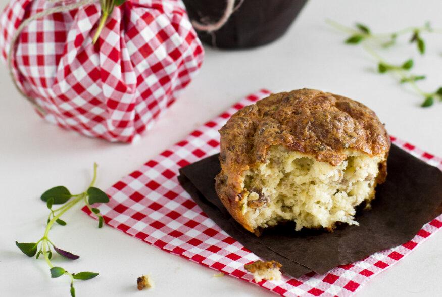 HEA ÕHTUKS | Muffinid hakkliha, juustu ja ürtidega