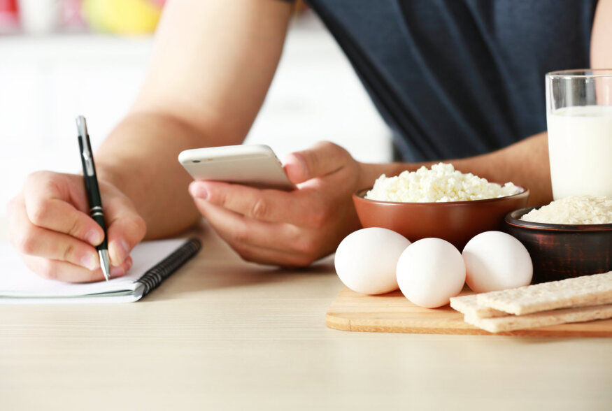 Kas toidupäeviku pidamine ja kalorite lugemine aitab kehakaalu langetada?