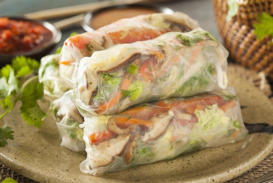 DETOX TOIT | Kreftised tofu-kreveti värsked kevadrullid tummise kastmega