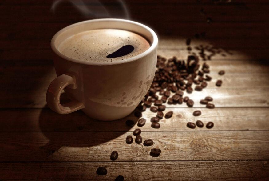 KOHVIVESI: Kuna kohvist moodustab vesi 98%, peab vesi olema õiges temperatuuris ja kareduses