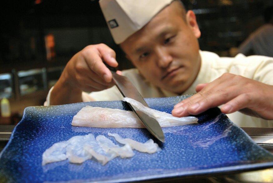 Jaapani delikatesskala tapab tuhat korda kiiremini kui tsüaniid