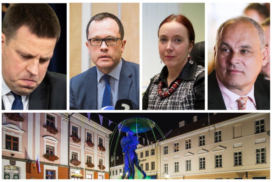 VIDEOD ja FOTOD   Tartu koalitsioon lagunes. Linnapea Klaas: on keeruline näha, kuidas Keskerakond saaks Tartu linna juhtimises osaleda