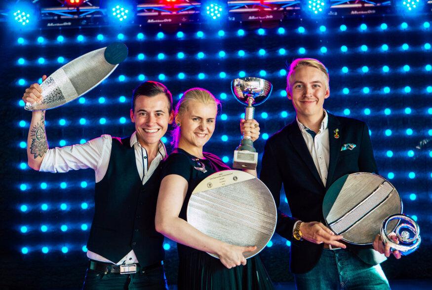 FOTOD | Eesti parimad baarmenid on Karina Tamm ja Georgi Voomets