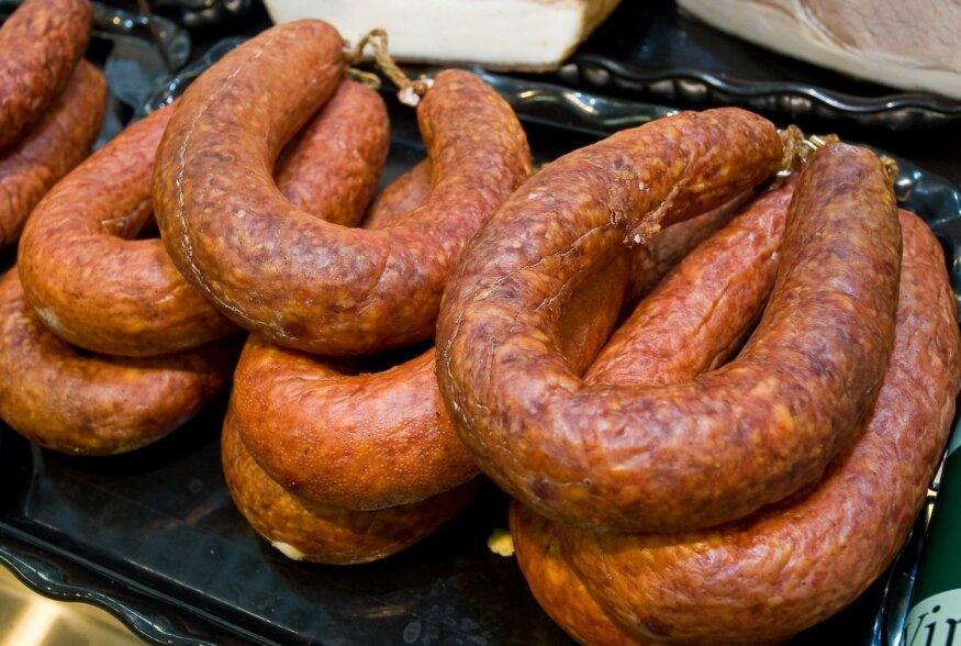 Tartu parim maitse on Rotaksi lihapoe Vasula täissuitsuvorst