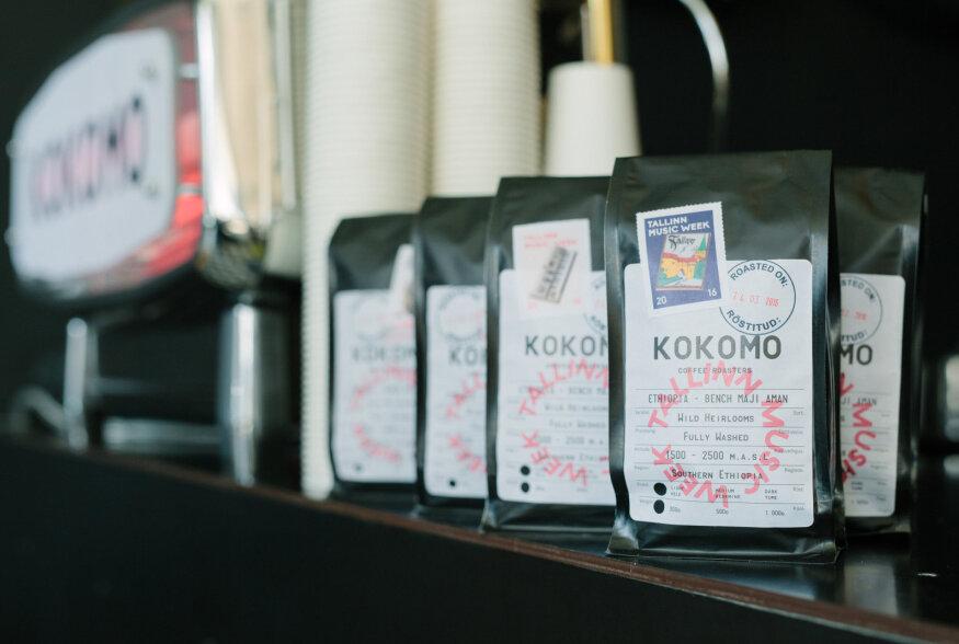Eesti uusim kohviröstija KOKOMO pakub muusikanädala ajal üle linna head kohvi