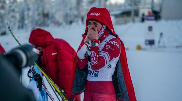 VIDEO | Venemaa suusataja kukutas finišisirgel liidri, pisarates sportlane diskvalifitseeriti