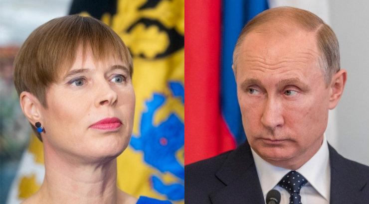 Kaljulaid palus Venemaa visiidil kohtumist Putiniga