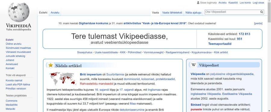 bc8f61f8e5e Talgulised keeletoimetasid üle 700 Vikipeedia artikli - Forte