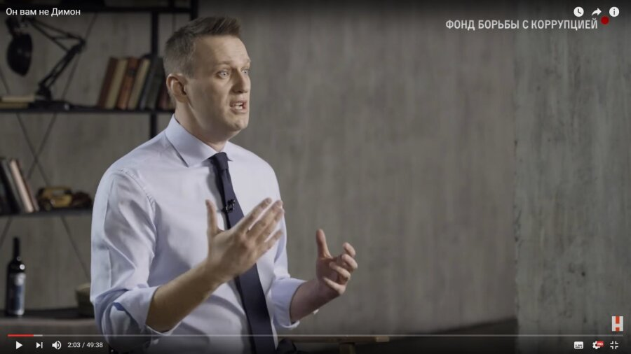 Преподавателя СФУ уволили после показа студентам фильма ФБК про Медведева