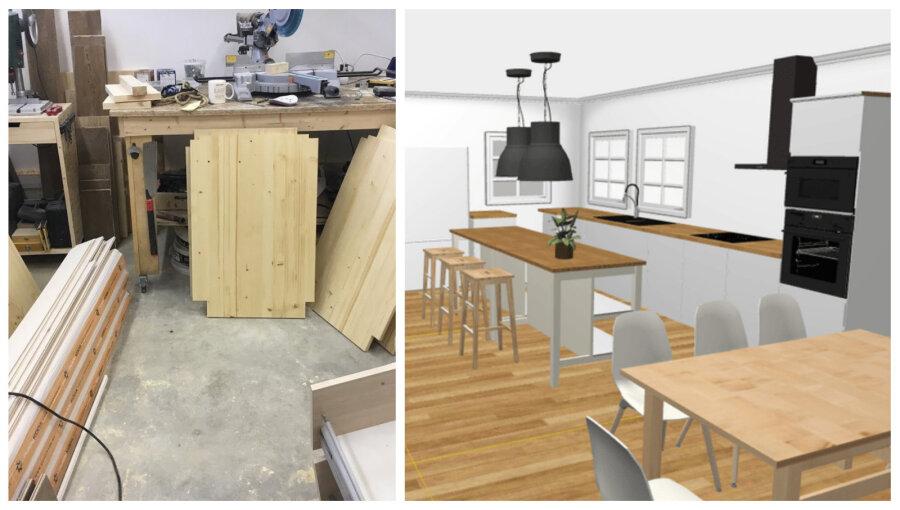 5a132534580 KODUBLOGI | Kuidas me ise puidust kööki ehitame - Moodne Kodu