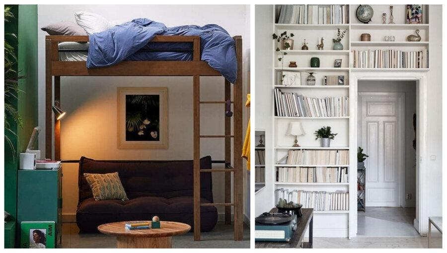 cbb9a5e8e65 15 nutikat ideed, kuidas elamises ruumi säästa - Moodne Kodu