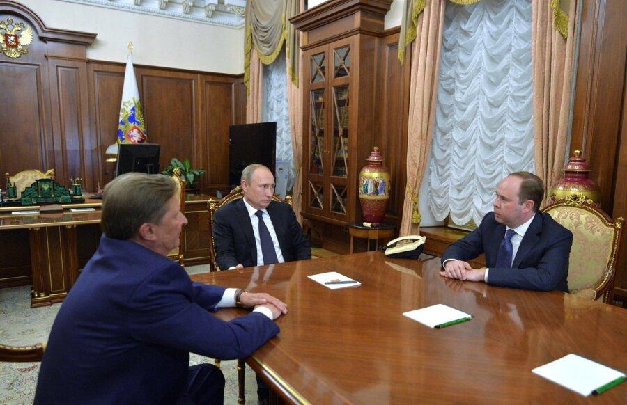 Путин сменил руководителя администрации президента