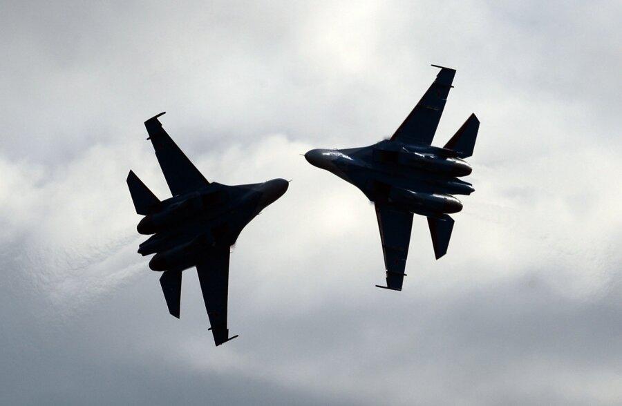 Финляндия сообщила о несоблюдении ее воздушного пространства русским Су-27