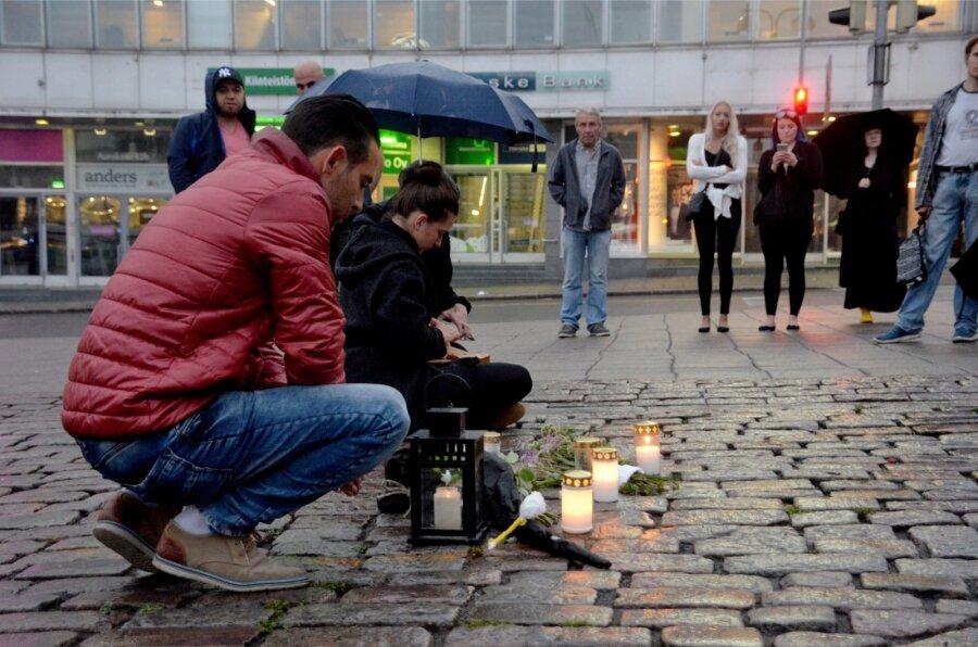 Жертвами нападения вооруженного ножом правонарушителя вфинском Турку стали два человека— милиция