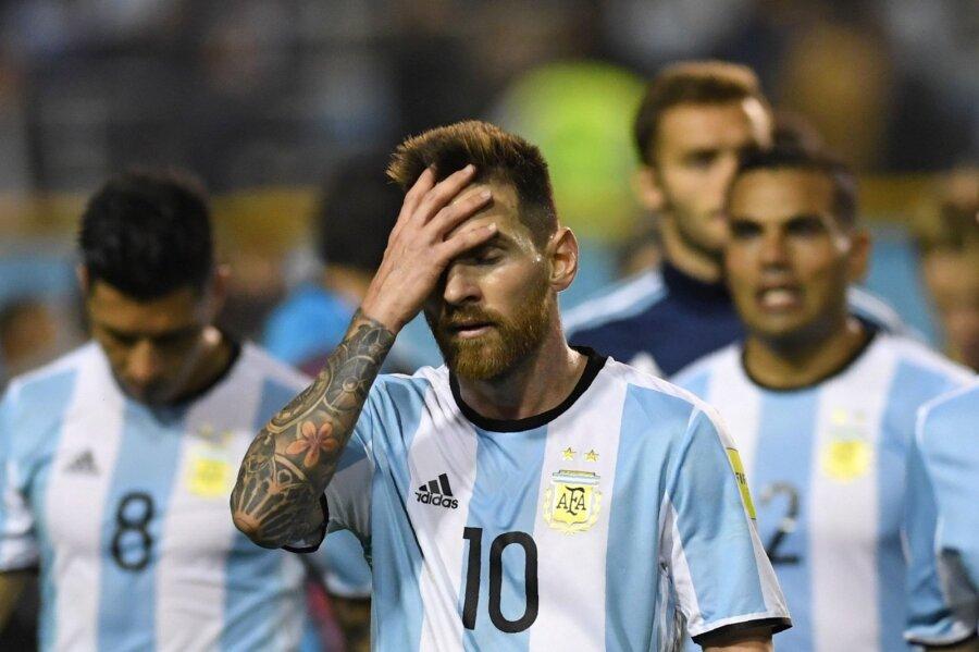 4353939bddb VIDEO | Argentina jalgpall katastroofi lävel. Koondis jääb MM-ilt ...