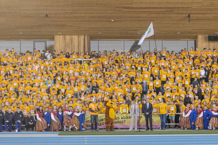 President Kersti Kaljulaid Spordinädala avasündmusel: lapsed saavad aru, et neil on oma roll