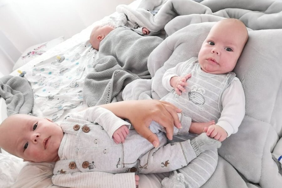 Jaanuaris sündinud kolmikute ema Sigrid: need kuud on siiani olnud mu elu parimad