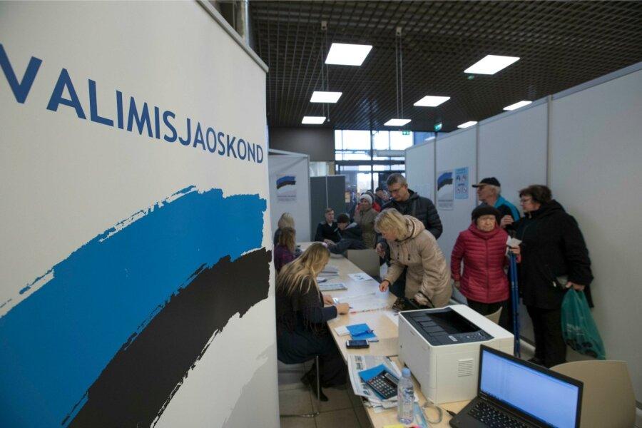 ВЭстонии подсчитали голоса, поданные намуниципальных выборах