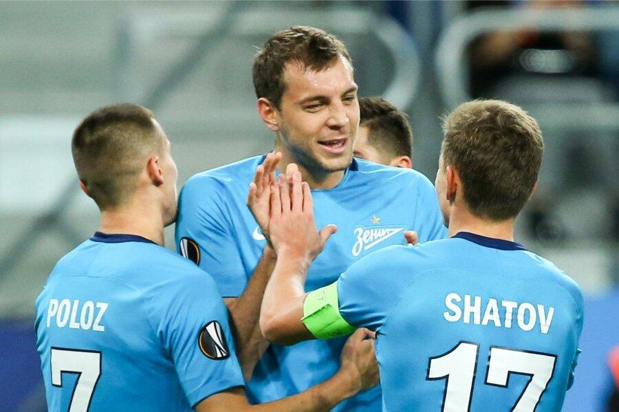 «Локомотив» и«Зенит» одержали победы вЛиге Европы