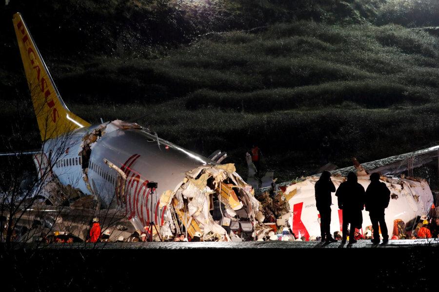 Lennuõnnetus Istanbulis.
