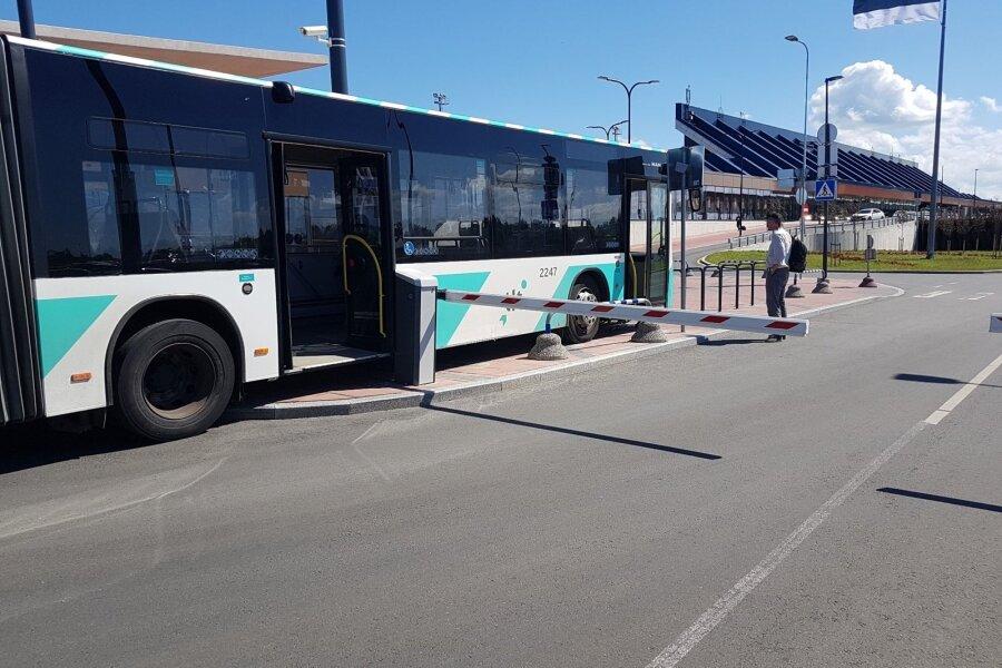 Bussiavarii Tallinna lennujaamas