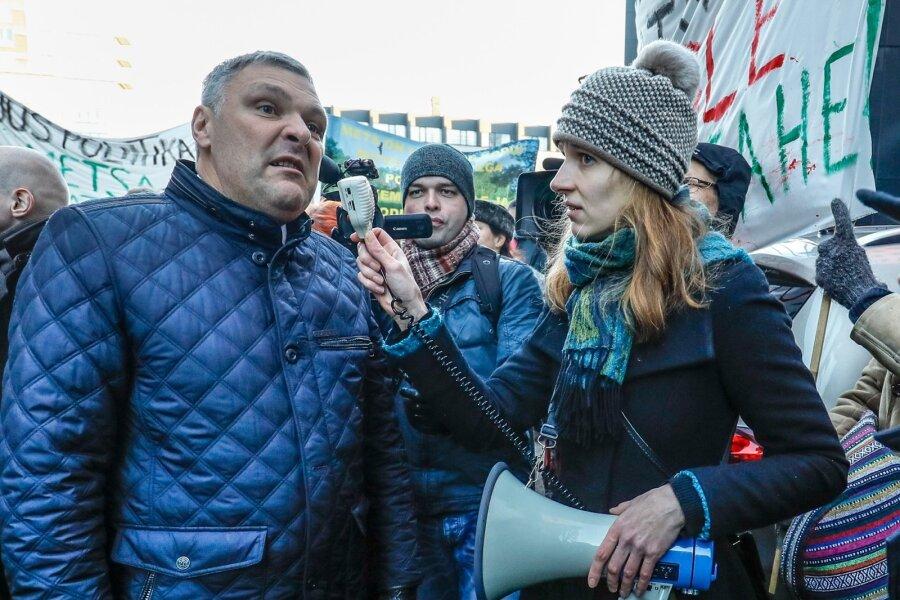 Metsakaitsjate protestiüritus Tallinnas