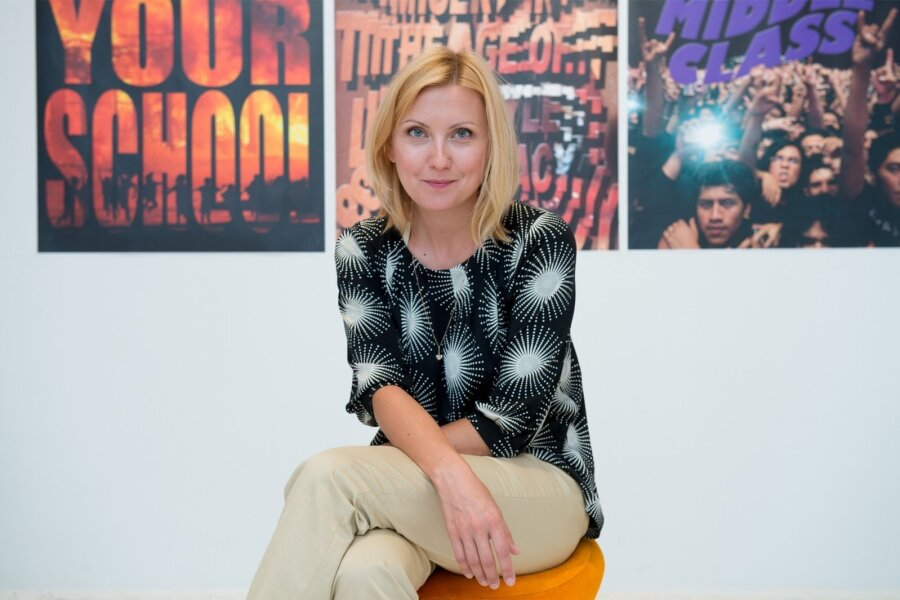 Olga Temnikova, galerist