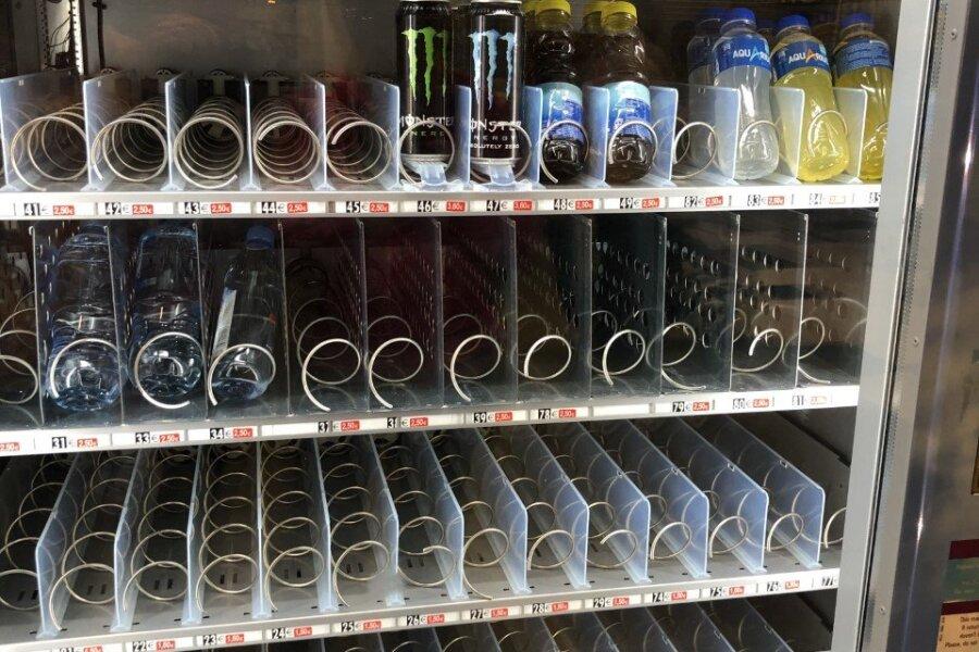Joogiautomaadist võib veel saada energiajooki ja jääteed.