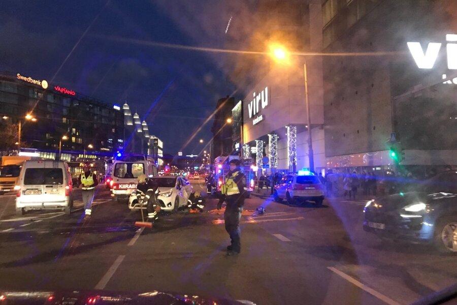 Õnnetus Tallinnas Viru ringil
