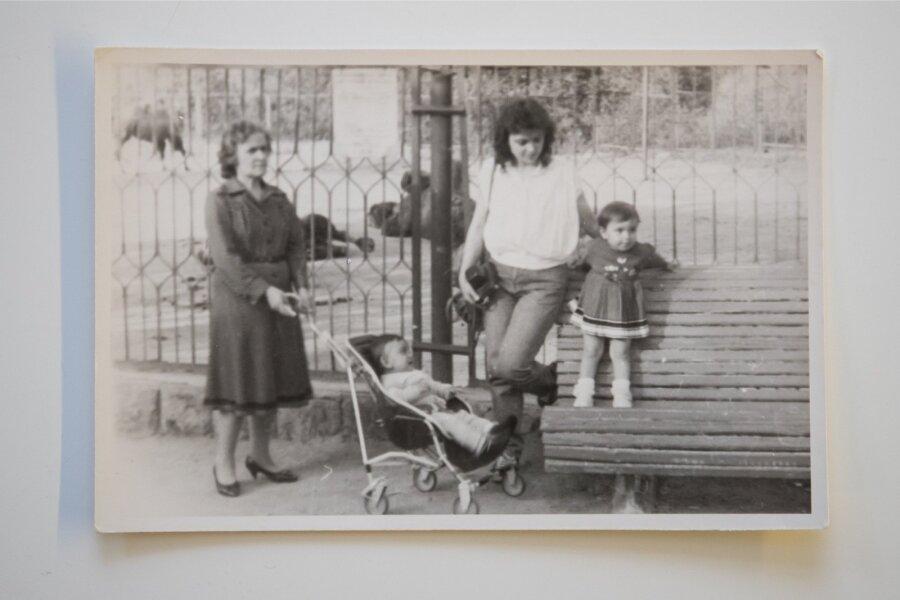 Vanaema, ema ja vennaga Armeenias