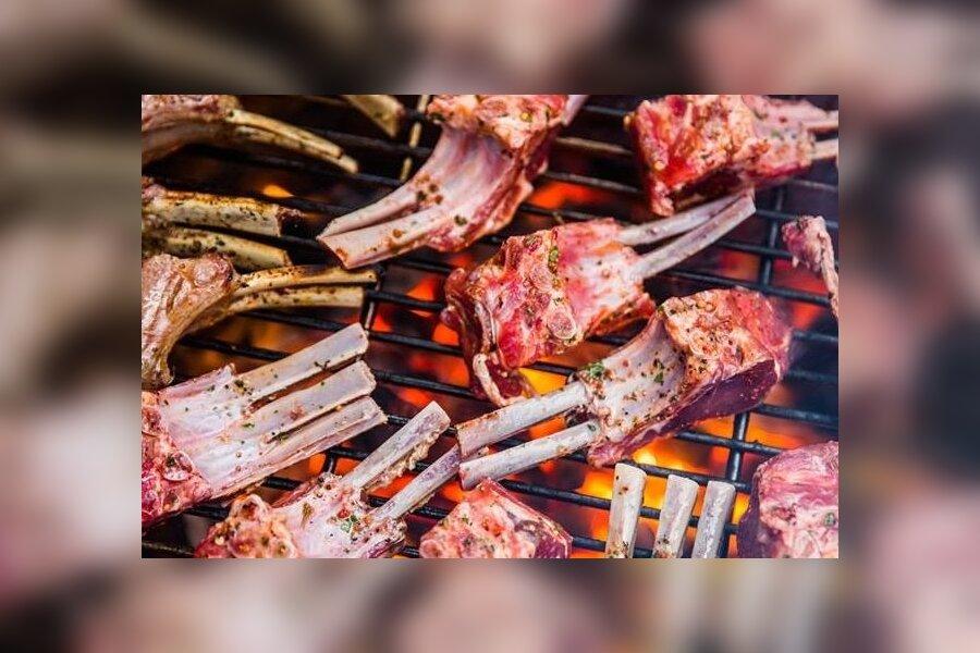 Lambakarree grillil