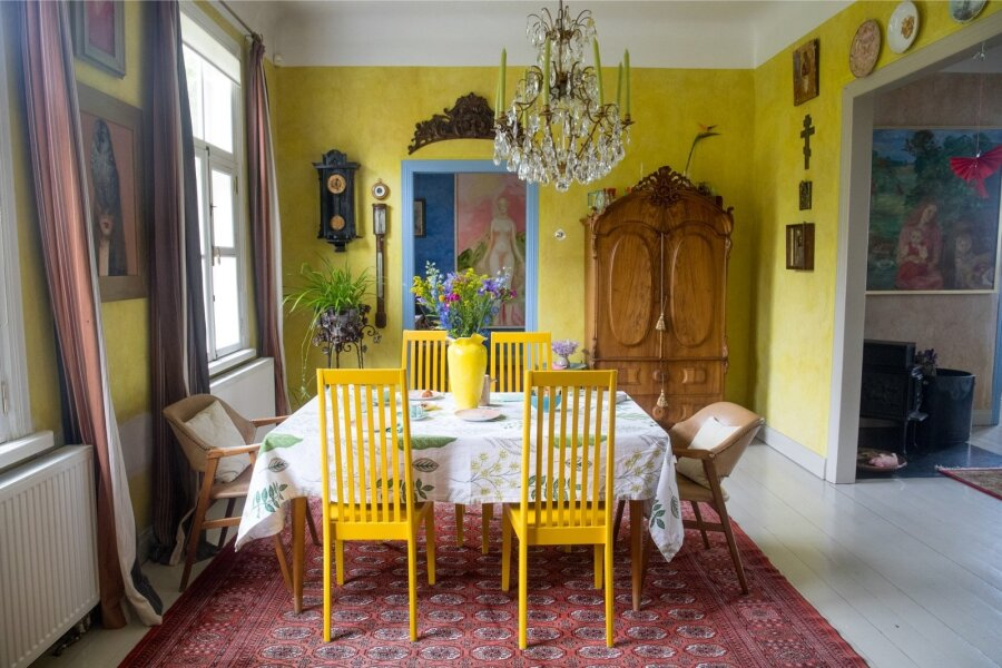 f8696c25801 Kollasesäras oli Liisu elamine ka pealinna kodus. Nii oli hubane uude koju  tulla.
