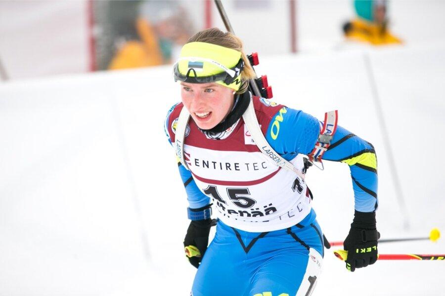 Макарайнен уверенно выиграла спринт вРупольдинге— Биатлон