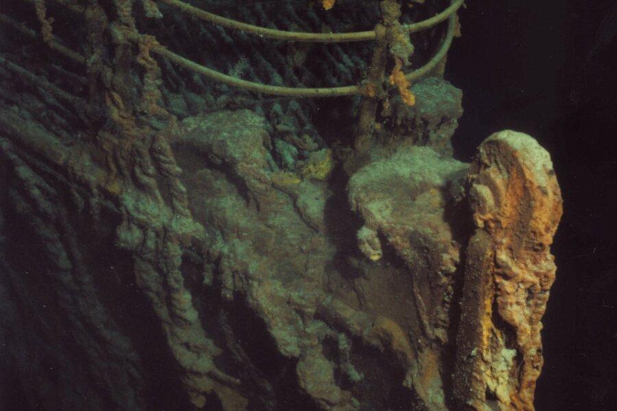 VIDEO | Sukeldujad jälle Titanicul: aeg ja ookean teevad oma töö