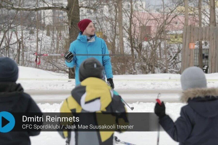 VIDEO: Dmitri Reinmets: alguses on lapsel kõige olulisem saada kätte suusa tunnetus