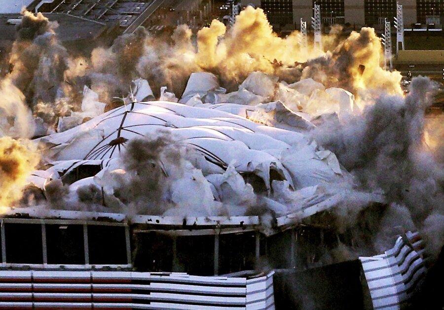Реальный расчет итонны динамита. Как взрывают стадионы вСША
