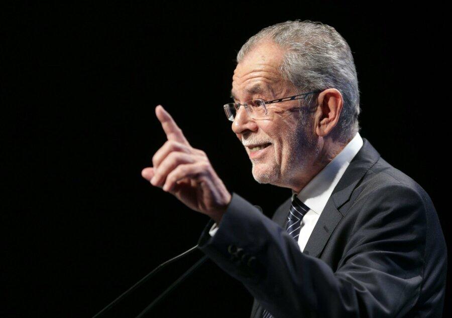 Александр Ван дер Беллен одержал победу напрезидентских выборах вАвстрии