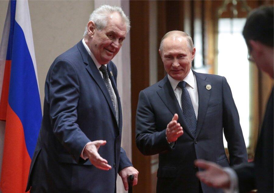 Навыборах президента Чехии лидирует Милош Земан
