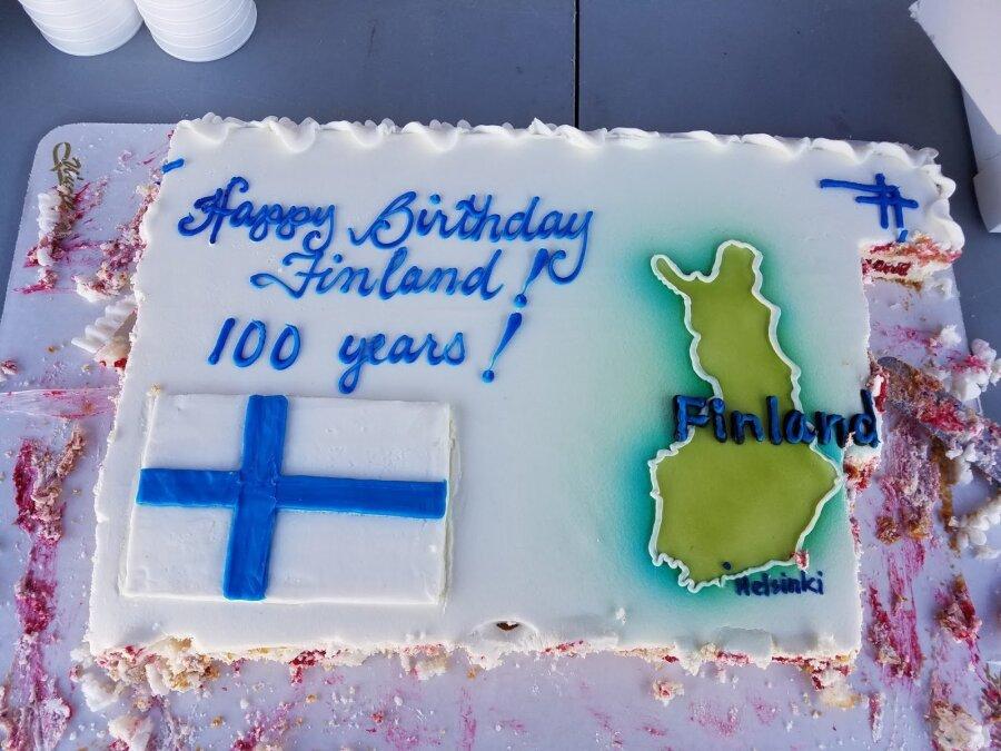 Сегодня отмечается столетие Независимости Финляндии