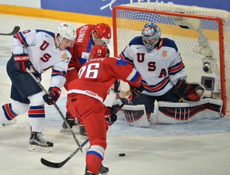 Сборная РФ проиграла США намолодежном Чемпионате мира