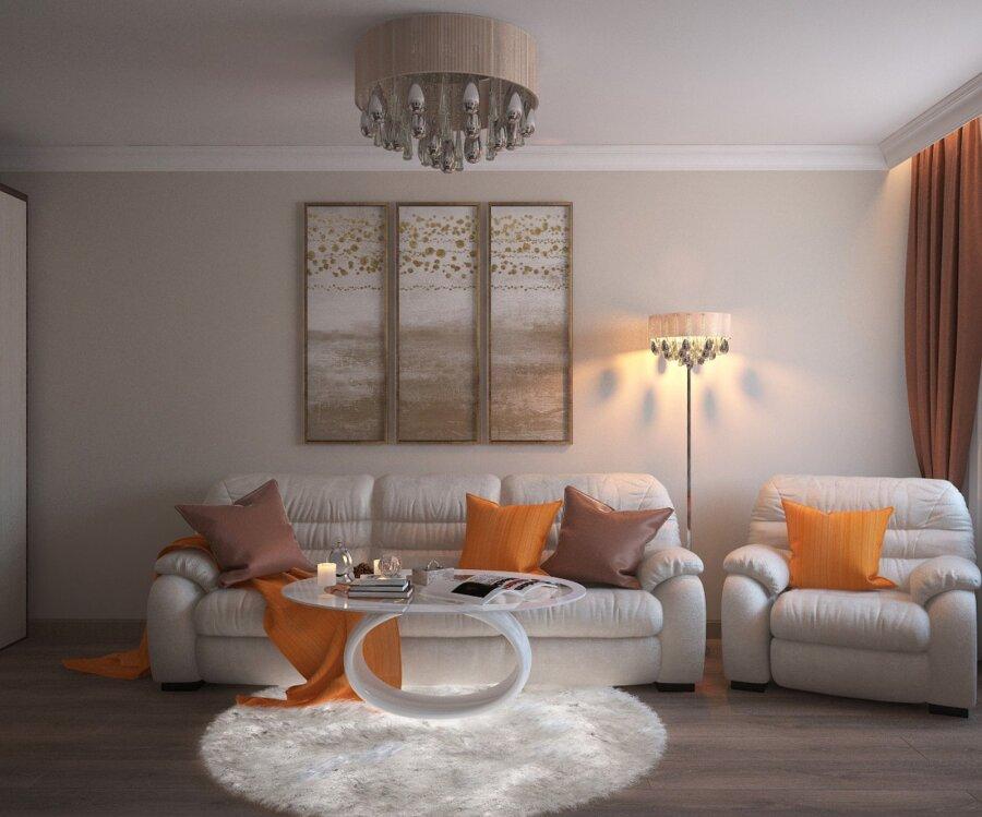 СОВЕТЫ   Как выбрать мебель и декор для маленькой гостиной - Dekor 3cc38f0b9f7