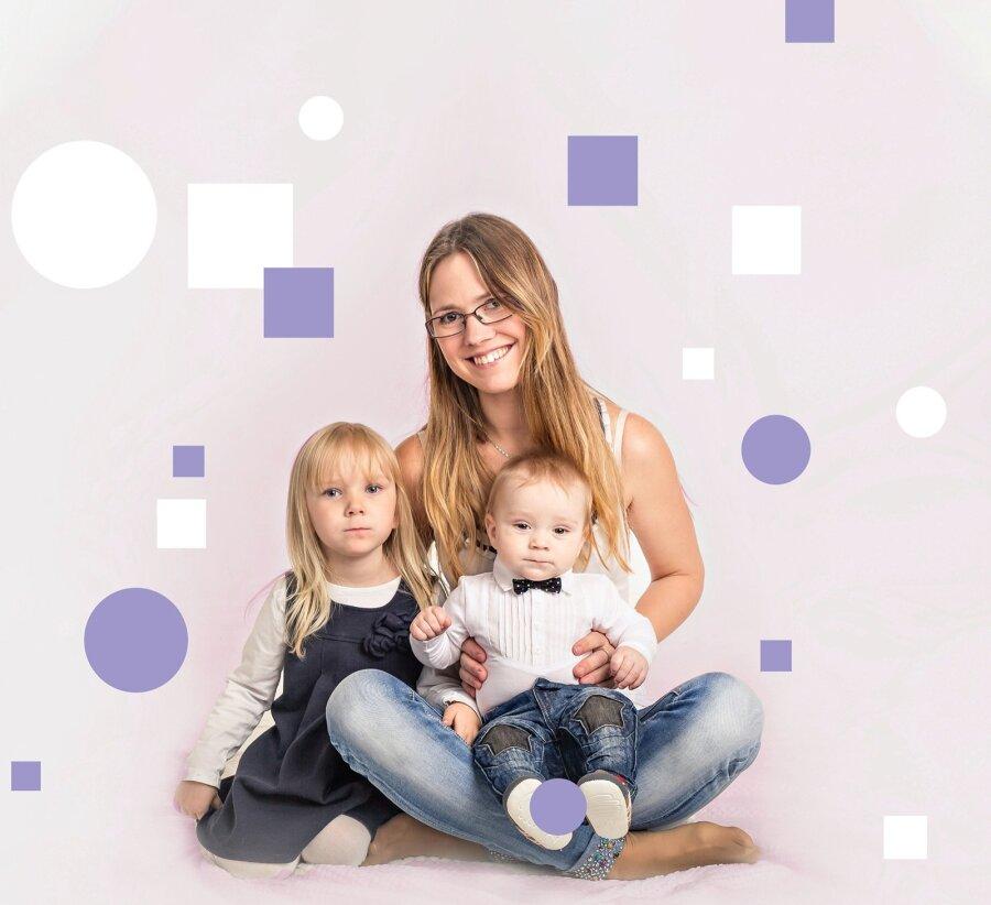 7af3523810c Johanna mured said alguse siis, kui teine laps Feliks oli kahekuune. Pärast  vanema tütre