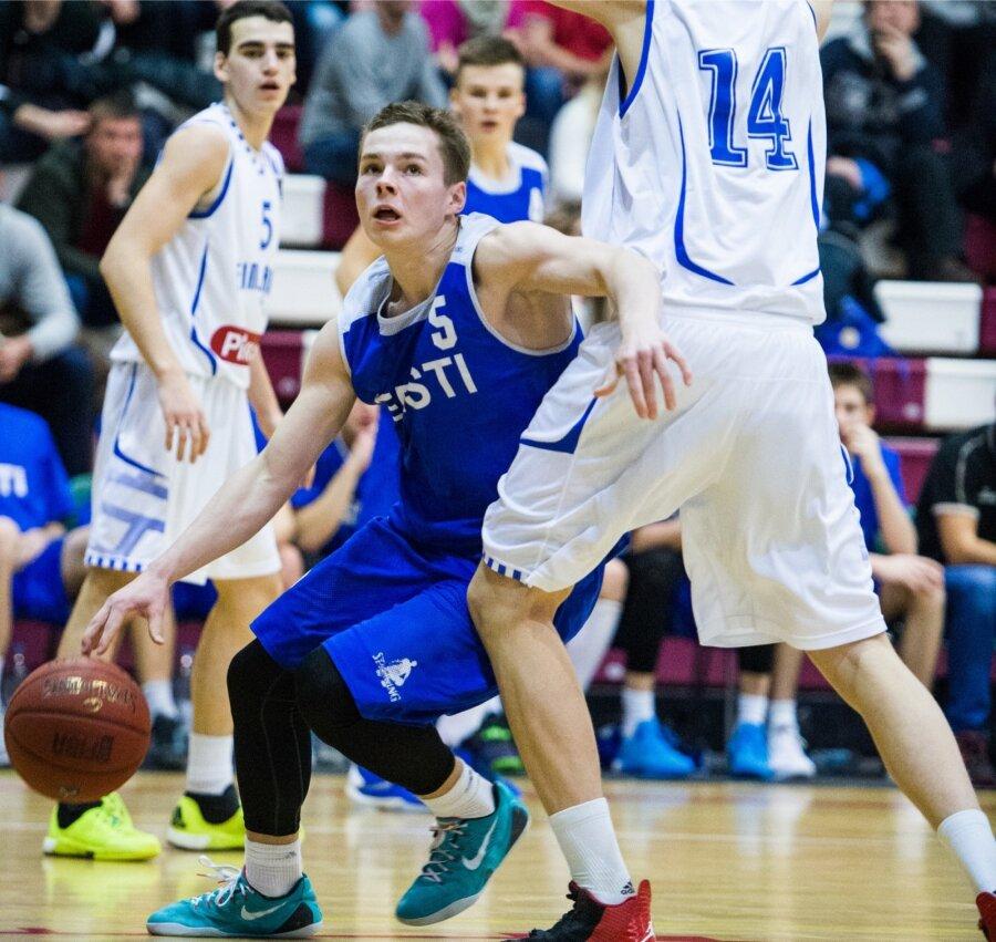 780c6a42aea Eesti U18 korvpallikoondis alistas Tšehhi ja kindlustas alagrupi ...