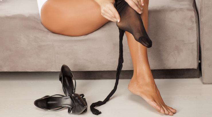 Selle häkiga tagad, et su sukkpüksid ei vaju enam kunagi mööda jalgu alla