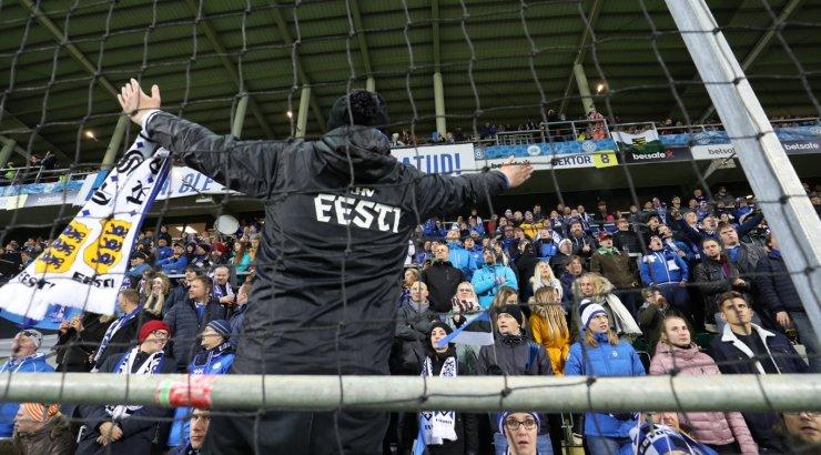 Meeste jalgpallikoondis püstitas publikurekordeid